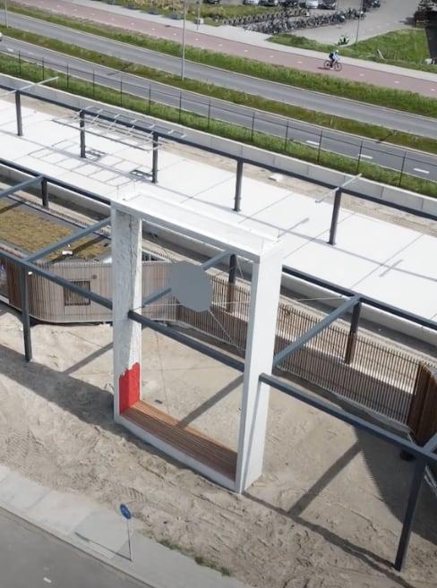 Stationsomgeving Hoek van Holland Haven en voorzieningen
